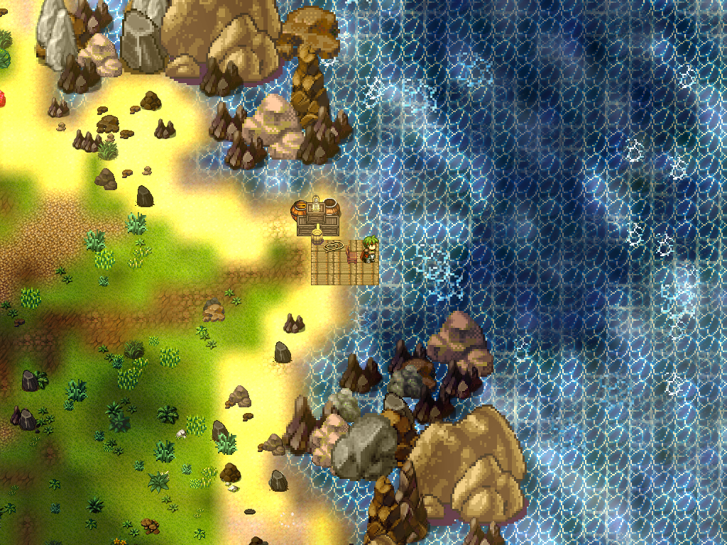 Alpha-Screenshot from Gardens of Gonzo MMORPG : gamedevscreens