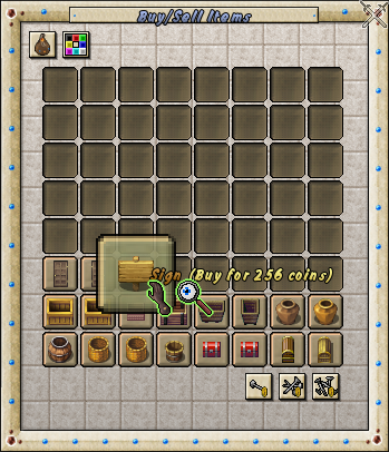 Trade Items